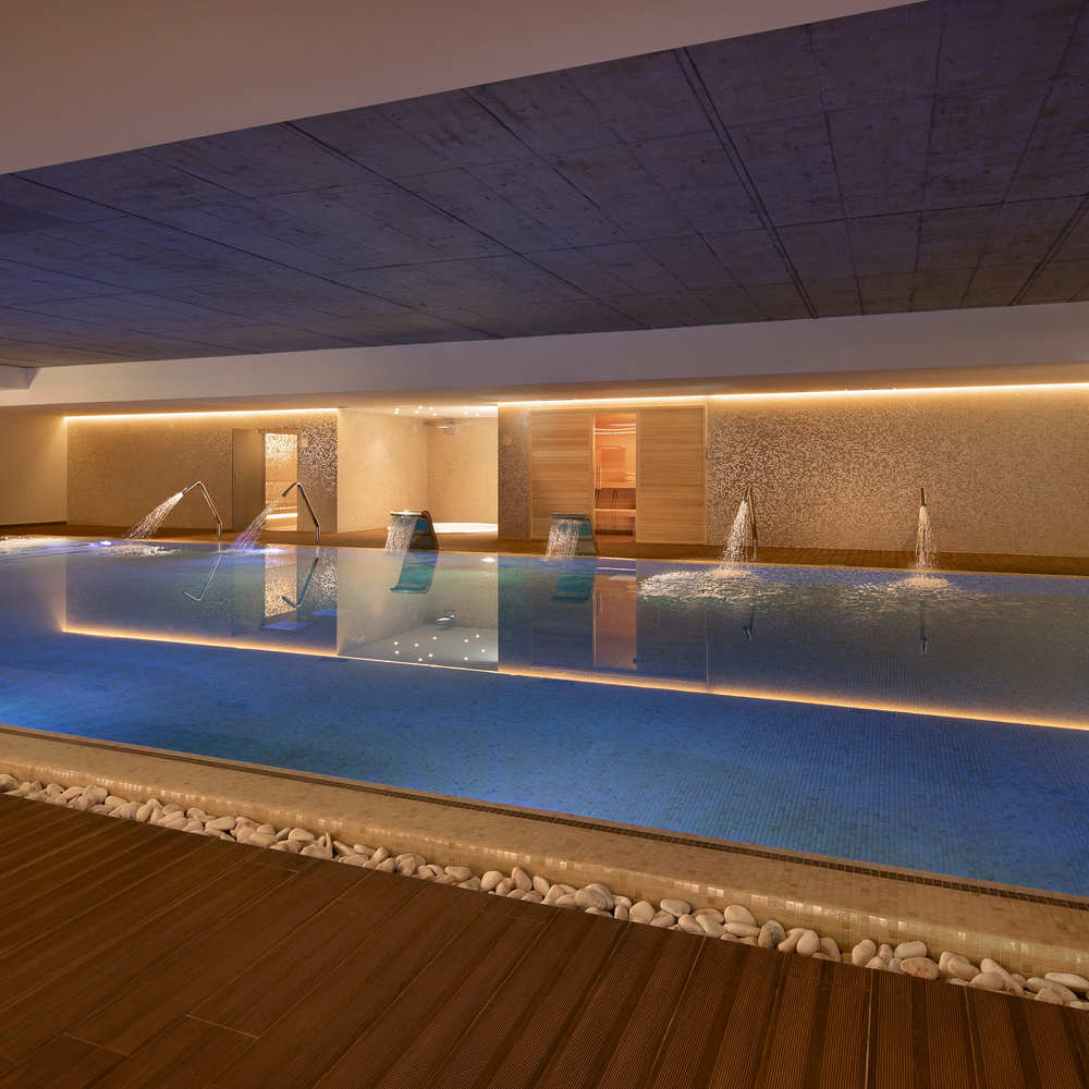 Boeira garden hotel porto gaia indoor pool and spa