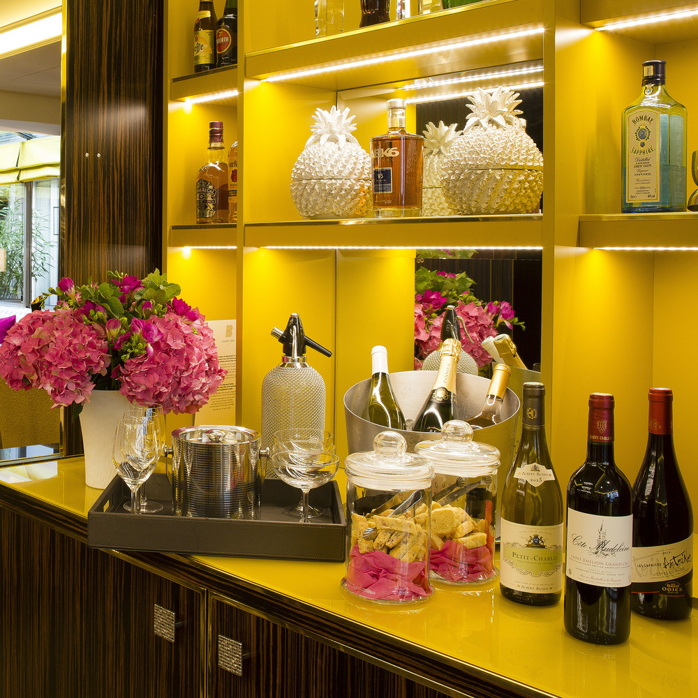 Hotel baume paris honesty bar