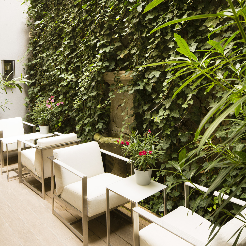 Hotel baume paris patio