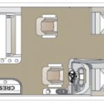2021 Crest Classic DLX 220 SLSC