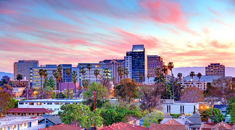 San Jose California skyline