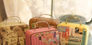 Mini Suitcase Box