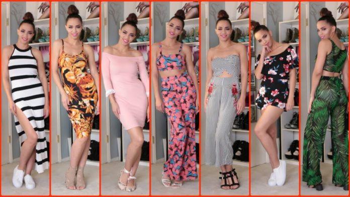 summer season dress styles