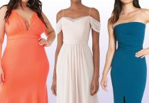 The Distinctly Modern Plus Size Long Dresses