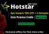 Hotstar US promo code: SAVE40