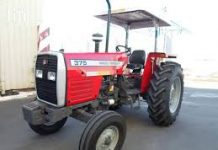 Massey Ferguson 375 in the UAE