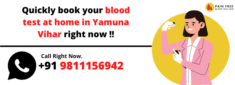 Blood Test In Yamuna Vihar At home | at lowest price