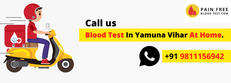 Blood test In Yamuna Vihar At Your Home In Delhi