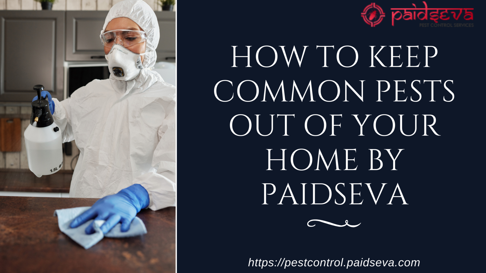 How to keep common pest away