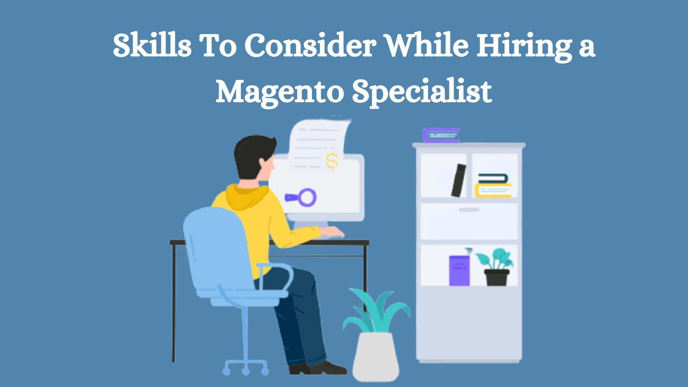Magento specialist
