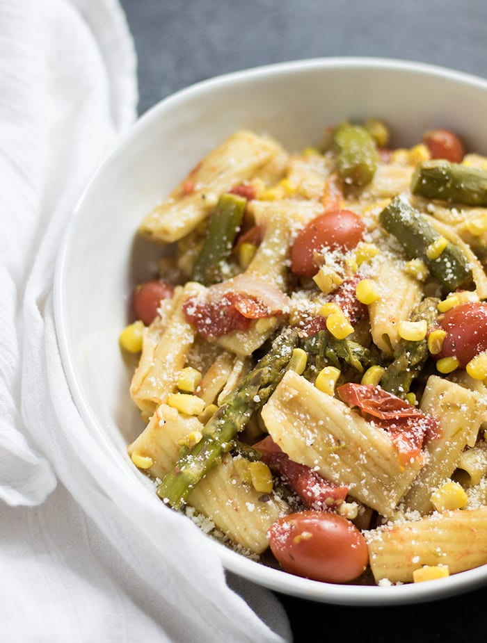one pot spring pasta