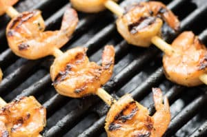 Grilled Cajun Garlic Shrimp