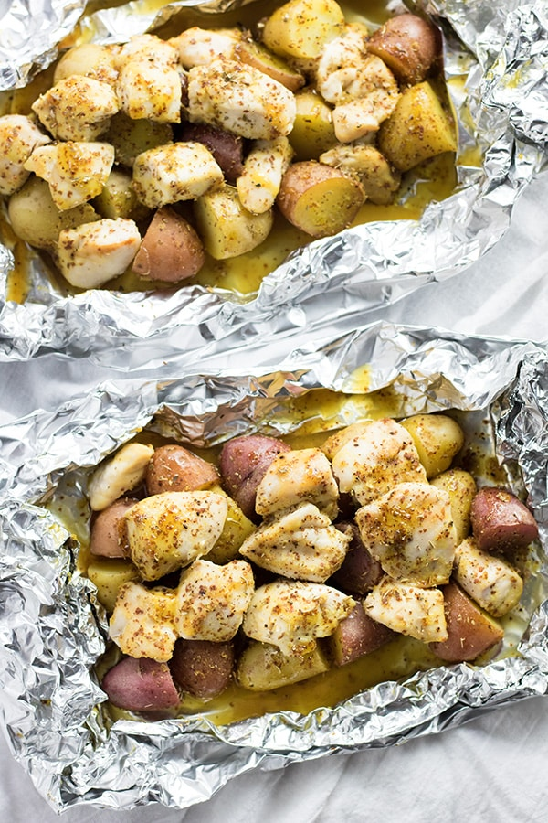 chicken foil packets