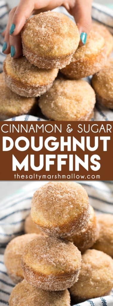 Cinnamon Sugar Donut Muffins An Easy Recipe For That Taste Like
