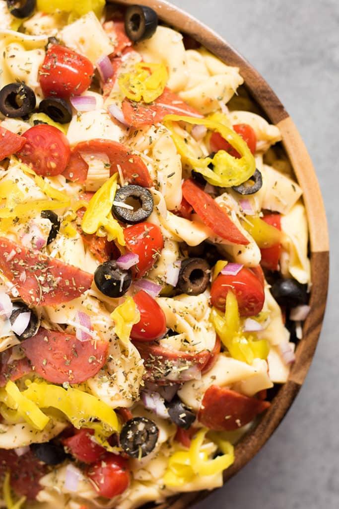 italian tortellini salad