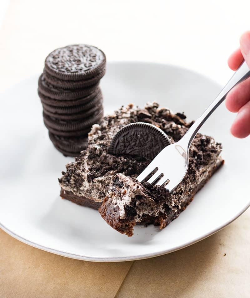 brownie bottom oreo cheesecake