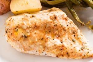 Baked Garlic Butter Chicken