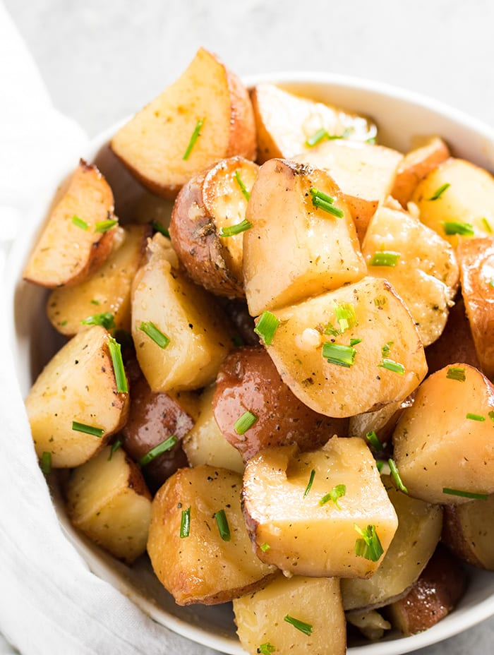 crockpot red potatoes with ranch