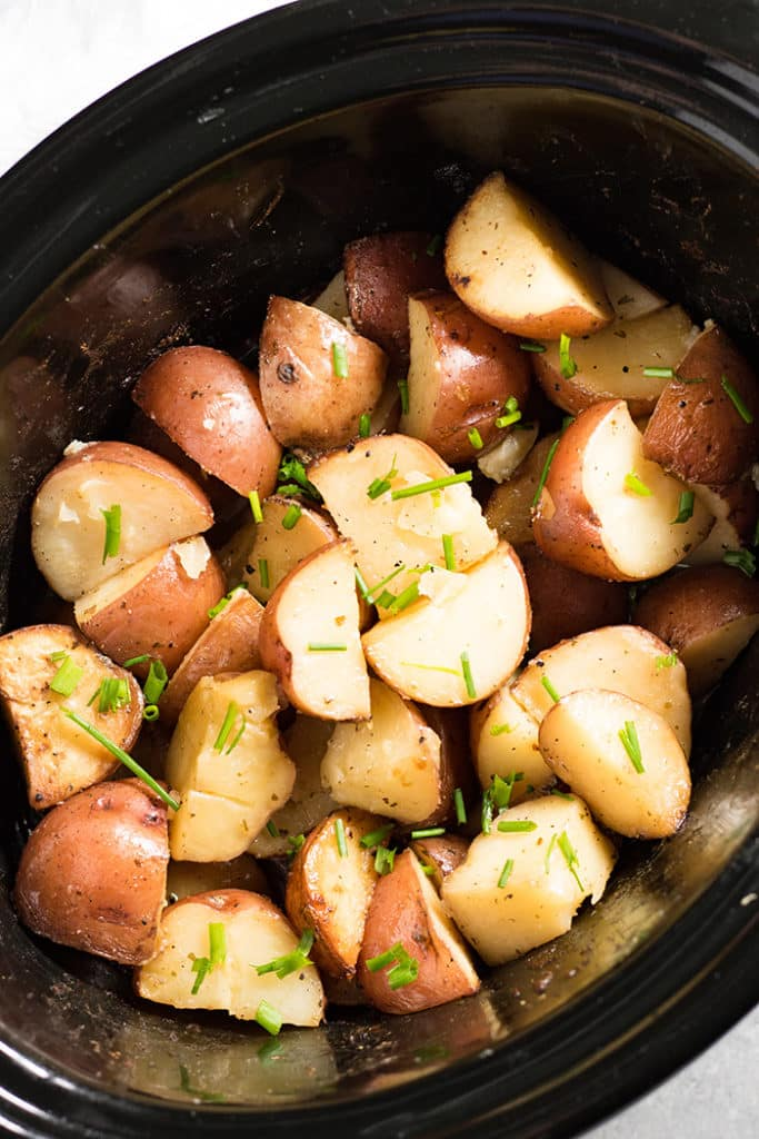 crockpot red potatoes with garlic and ranch