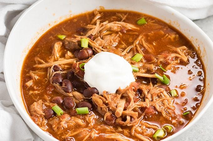 Pulled pork chili