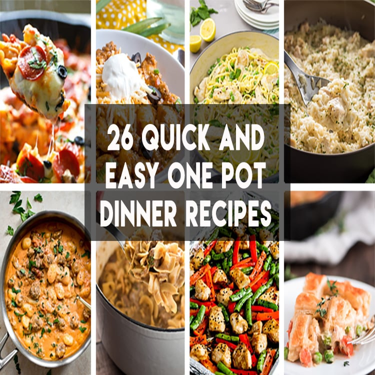 26 One pot, pan, and skillet meals