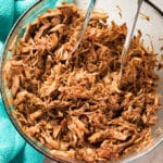 instant pot pulled pork recipe is easy to make using pork roast