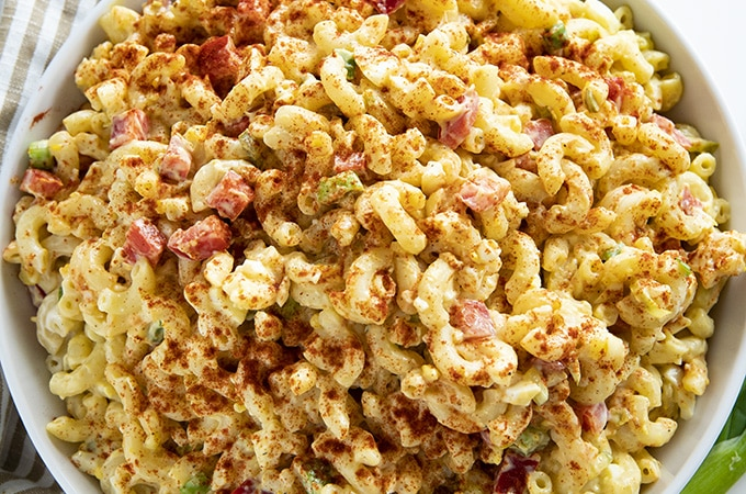 how to make macaroni salad recipe