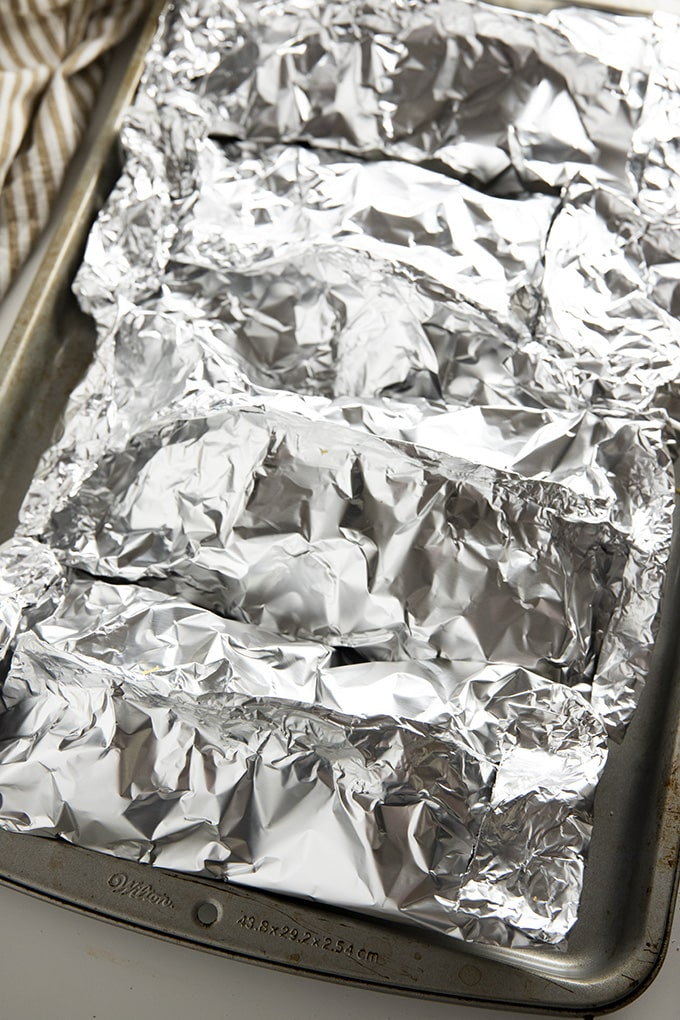 foil packets for oven or grill