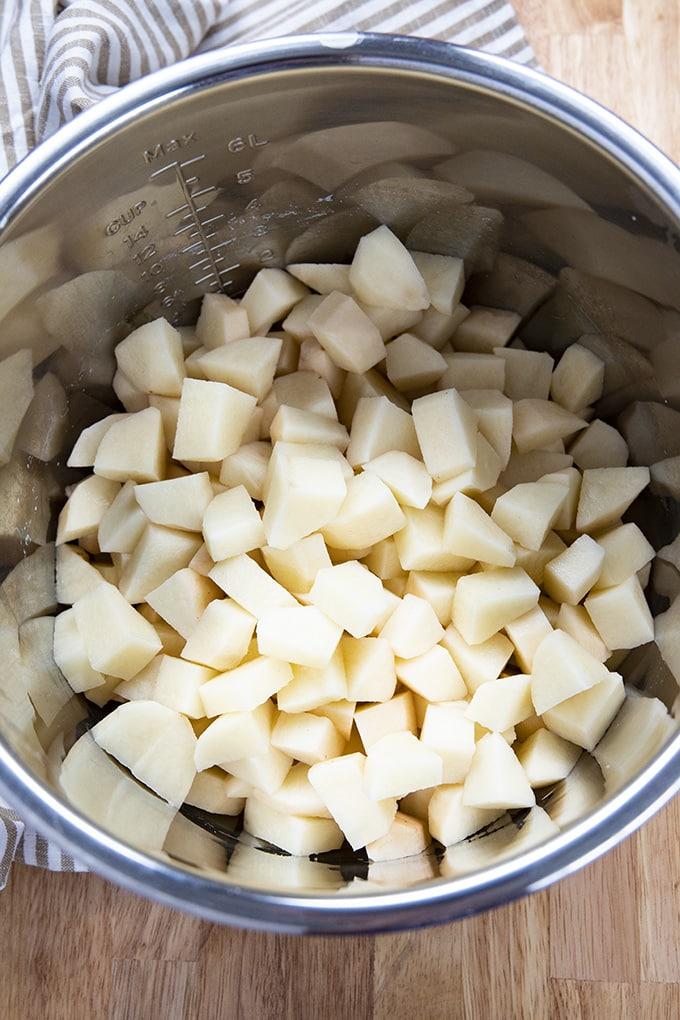 即食土豆丁