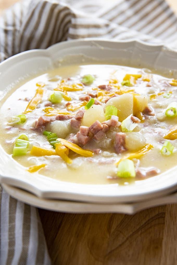 在即时锅土豆汤