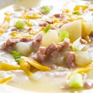 the best instant pot potato soup
