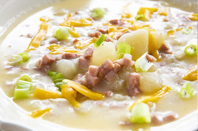 the best instant pot potato soup