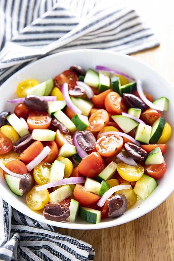 how to make tomato salad