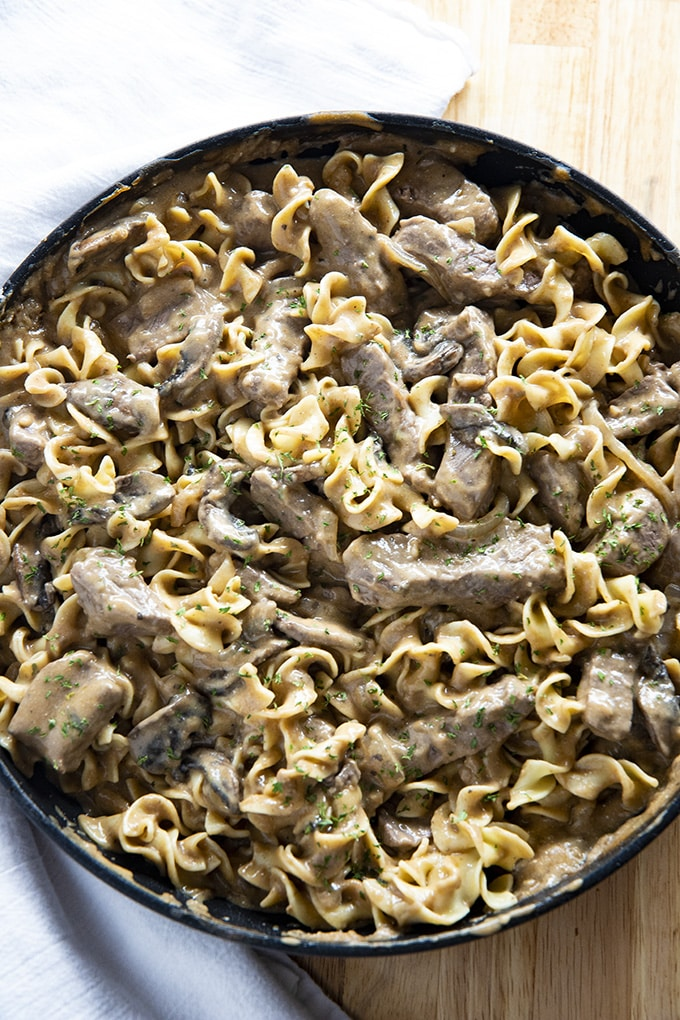 Easy Homemade Beef Stroganoff The Salty Marshmallow