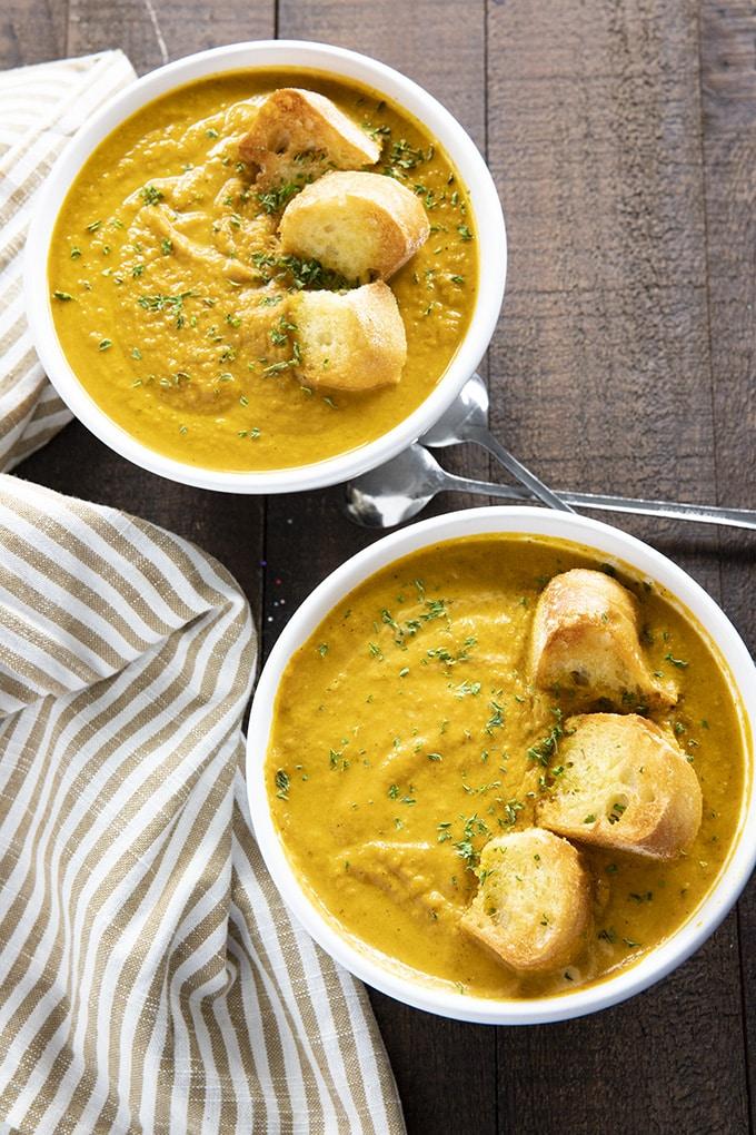 easy pumpkin soup recipe