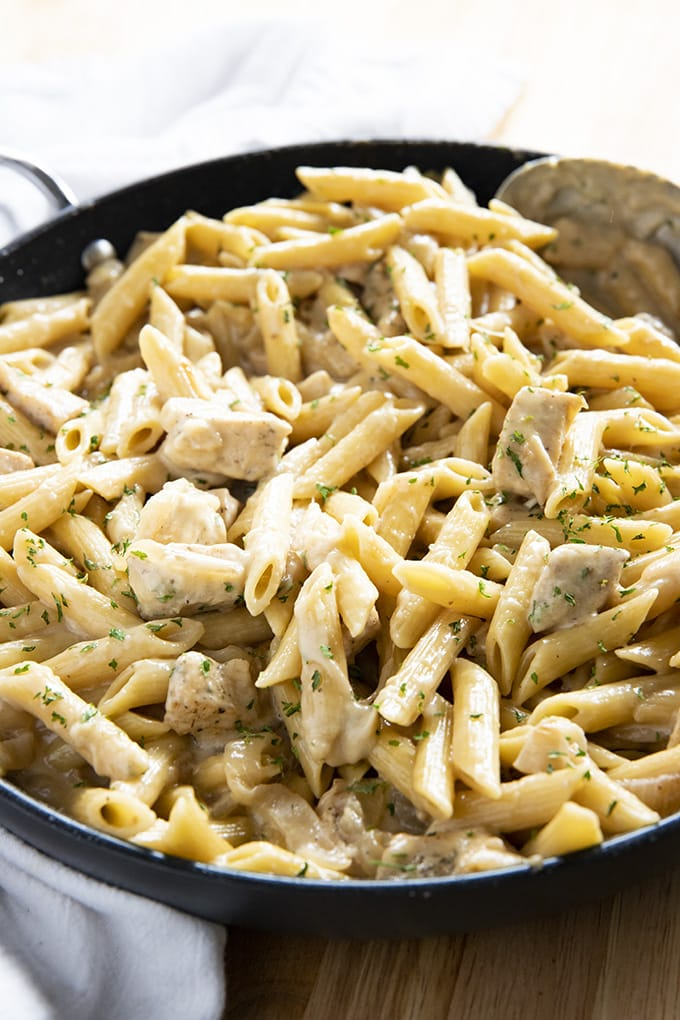 French Onion Chicken Pasta The Salty Marshmallow