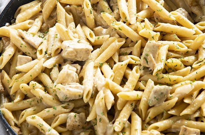 french onion chicken pasta