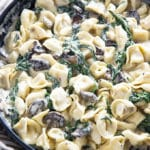 spinach mushroom tortellini