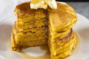 Perfect Pumpkin Pancakes