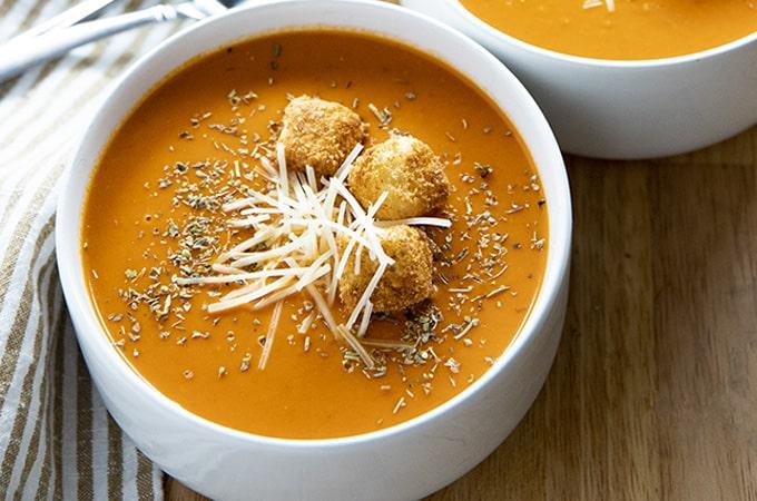 tomato soup recipe creamy