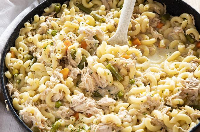 easy one pot turkey casserole