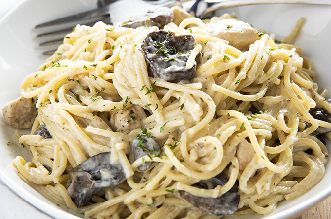 how to make easy chicken tetrazzini