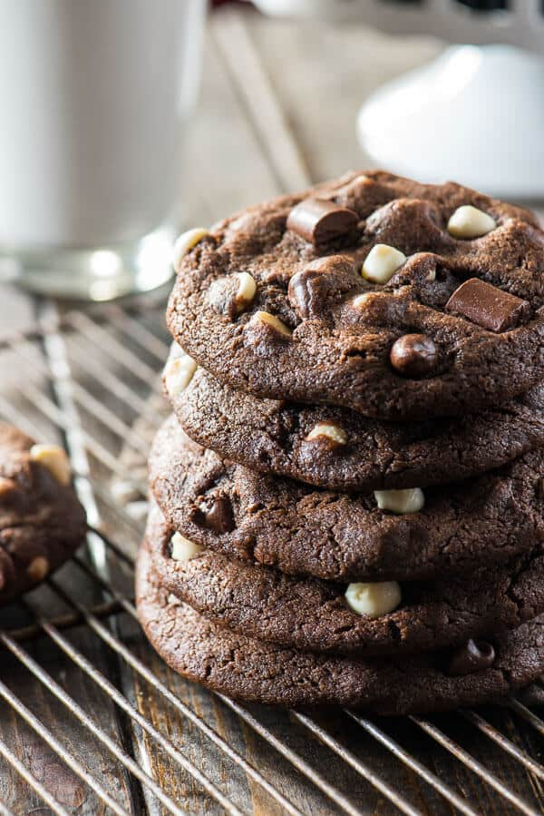bakery style chocolate cookies