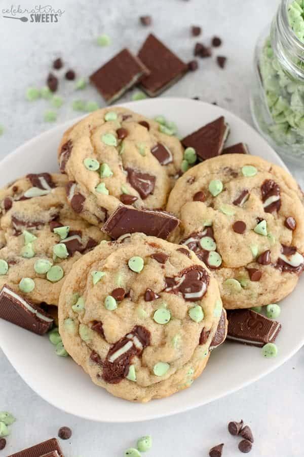 薄荷巧克力饼干