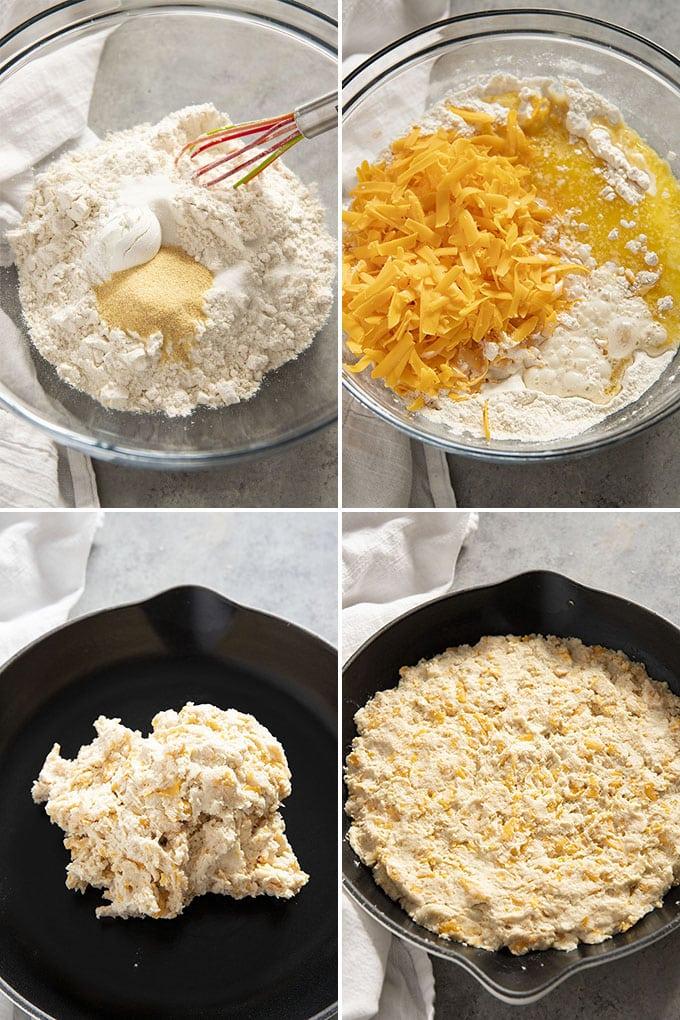 如何使干酪大蒜锅面包吗