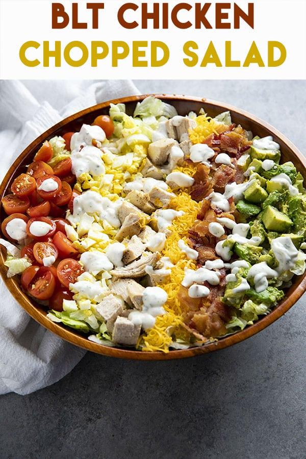 blt chicken chopped salad
