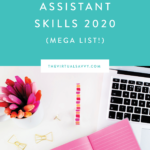 Virtual Assistant Skills 2020 (MEGA LIST)