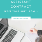 Virtual Assistant Contracts (GET YOUR BUTT LEGAL!)