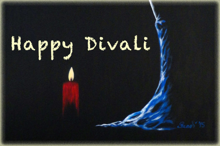 Happy Diwali to all my friends who celebrate the festival of lights. May the Divine Light of Diwali