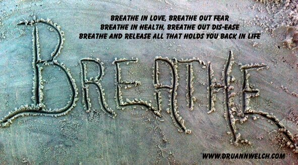 All it takes is a few breaths to release all that holds you back and change your life! Breathe deepl